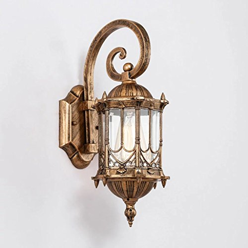 Antique 0utdoor Waterproof Wall Lamp (Width 21 41cm High) Villa, Garden Simple Wall Lamp (Lighting 0utdoor)