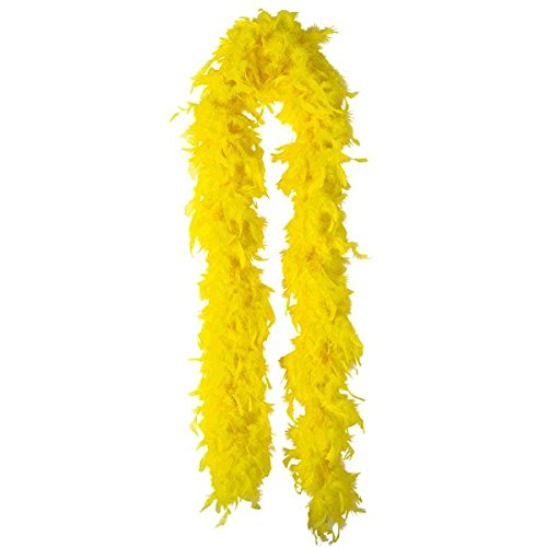 Amscan Boa, Party Accessory, Yellow ()