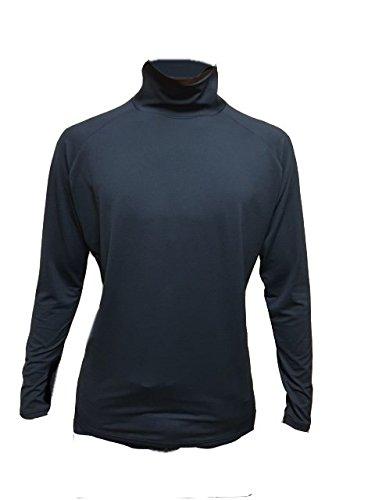 ハイネックインナ-シャツ メンズ スポーツシャツ UVカット99%(UPF50+)
