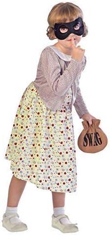 Disfraz de Granny para niñas de 5 a 12 años, diseño de Libro, 3 ...