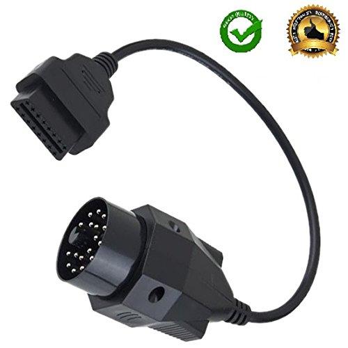 AntiBreak 20 Pin OBD OBD2 16 Pin Connector 20PIN OBD to 16PIN Diagnostic Adapter Cable Female Adapter Connector Cable 20 Pin E31 E32 E34 E36 E39 E38 E53 X 5 Z3