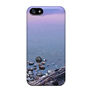 Protective Tpu Case With Fashion Design For Iphone 5/5s (nature Please Driftwood Favorite)