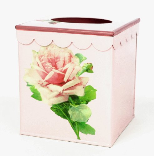 Vintage Style Tissue Holder ~ Tissue Box Cover ~ Tissue Box