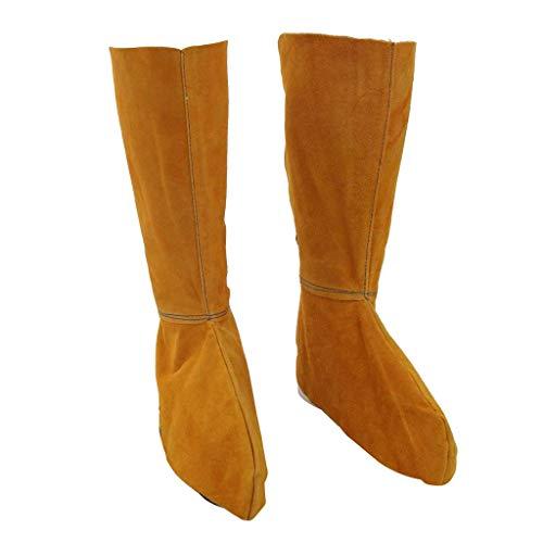nouler Juler Split Leather Welded Sheath/Shoe Cover 390Mm Length (Digital Sheaths)