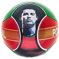 Soccer Ball Cristiano Ronaldo CR7 Portugal 6 Panels Red...