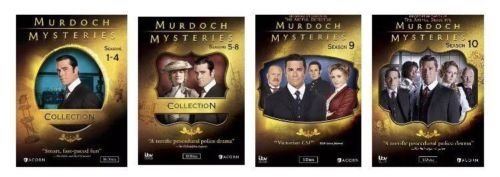Murdoch Mysteries Ultimate Collection Seasons 1-10 by