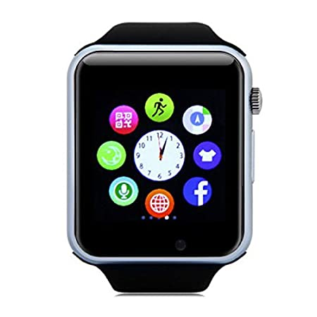 Original A1/W8 Smartwatch Smartwatch Android negro: Amazon ...