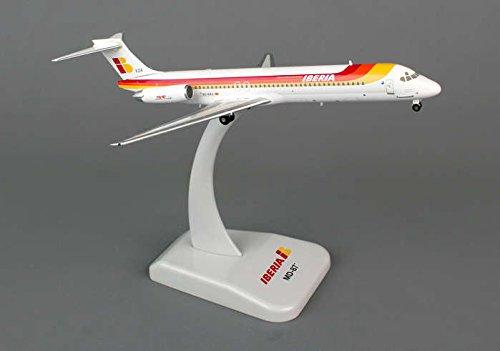 (HG5699 Hogan Iberia MD-87 1:200 DIE-CAST REG#EC-EZA Model Airplane)