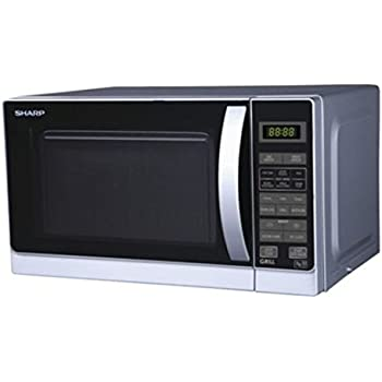 Amazon.com: Sharp R-72A1(SM) V 25-Liter 900W Microwave Oven ...