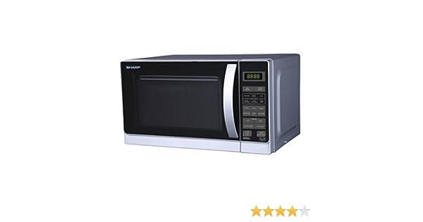 Amazon.com: Sharp R-72A1(SM) V 25-Liter 900W Microwave Oven ...