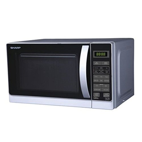 Sharp R-72A1(SM) V 25-Liter 900W Microwave Oven, 220-volt (Non-USA Compliant), Silver Review
