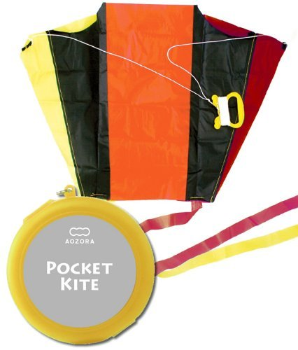 Pocket kite / POCKET KITE case color: housed in the yellow pocket size