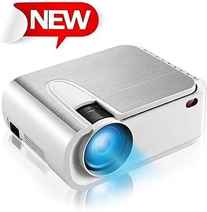 Amazon.com: XINDA Mini proyector portátil con 4600 lúmenes ...