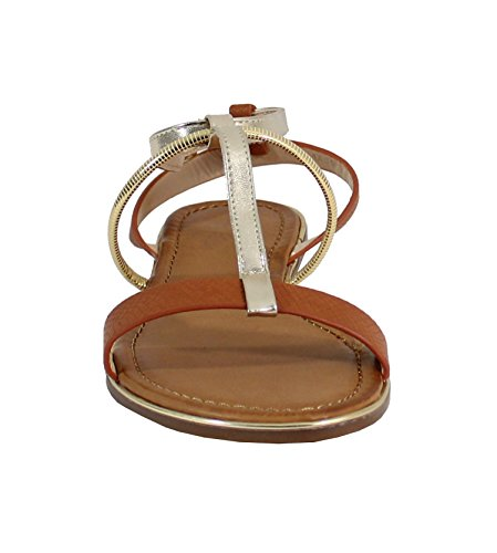 By Shoes - Sandalias para Mujer Camel