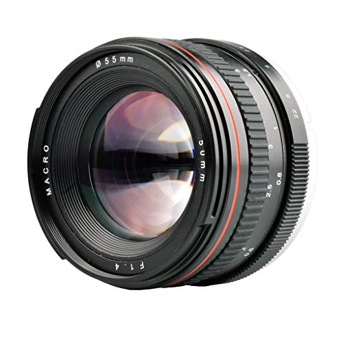 Belloc 2019 Professional 50MM F1.4 Manual Focus Portrait Lens Camera Lens For Nikon SLR
