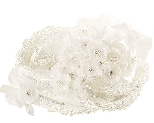 (White Wedding Lasso Rope Traditional Lazo Cord )