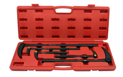 T&E Tools 8740 5 Piece Adjustable Lady Foot Bar Set by T&E Tools