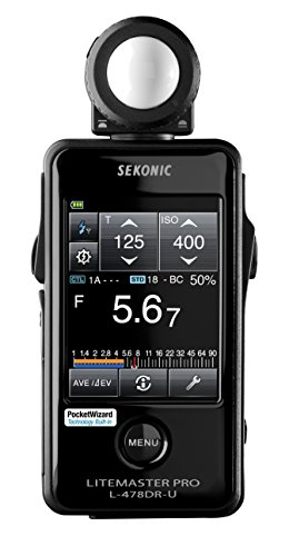 (Sekonic LiteMaster Pro L-478DR-U Light Meter for PocketWizard System (401-477))