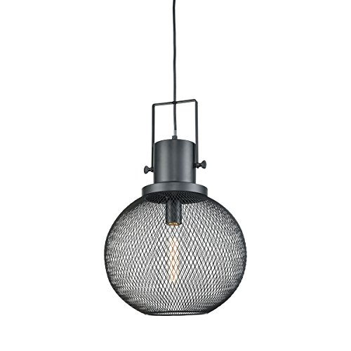 Bronze Finish Drop - Sterling Industries 1217-1016 Mic Drop - One Light Pendant, Oil Rubbed Bronze Finish