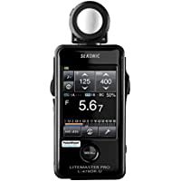 New Sekonic L-478DR-U Pocket Wizard Lightmeter With Exclusive USA Radio Frequency And Exclusive 3-Year Warranty