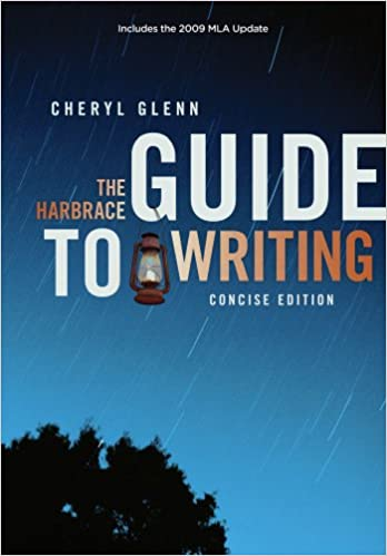 Amazon. Com: the harbrace guide to writing, concise (9780495913993.