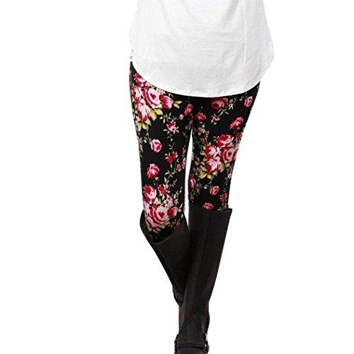 Pattern Colour Elegantichic A Collant Autunno Vintage Pureed Invernali Elastico Matita Skinny Tempo 15 Donna Leggings Pantaloni Libero Stampato Pantaloni pTq4wCv