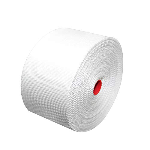 (YIKAI Fiberglass Cloth Tape, Glass Fiber Mesh Joint Tape Plain Weave Reinforcement E-Glass Size 4