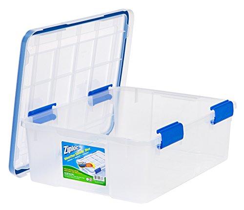 From U S A Ziploc Weathershield 26 5 Quart Storage Box 4