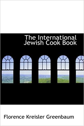 Download The International Jewish Cook Book: 1600 Recipes According to the Jewish Dietary Laws PDF, azw (Kindle), ePub, doc, mobi