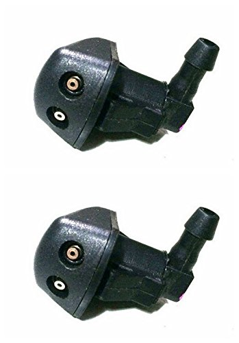 Pair Front Windshield Washer Spray Nozzle: