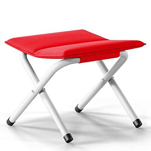 Amazon.com: QIDI - Taburetes para silla (lona de metal ...