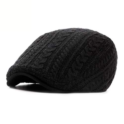 Delantero el qin del GLLH la Que El de Invierno Pato B de otoño Caliente Punto B Viejo Sombrero y el hat Sombreros los Sombrero Hace Sombrero Hombres Sombrero Grueso señoras Boina vwdw1Uq