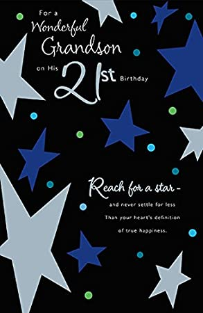 Grandson 21st Birthday Card Amazon Office Products
