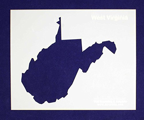 State of West Virginia Stencil 14 Mil 8