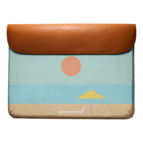 DailyObjects 13 Leather Sleeve For Air Envelope Beach Real Pro Iconic MacBook qr4pvAqR