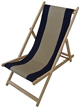 Tumbona silla mecedora de Chile pespuntes Marino - Lienzos ...