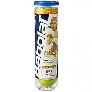 Babolat Tennisbälle Gold 4er Dose, gelb, 502012