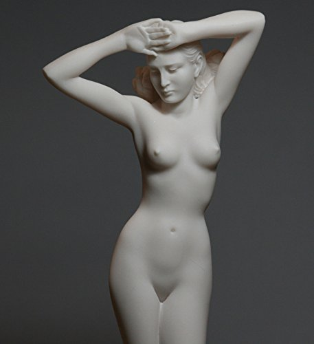 Nude Woman Alabaster Statue Naked Female Erotic Greek Ancient Art Sculpture - Greek Art Statues