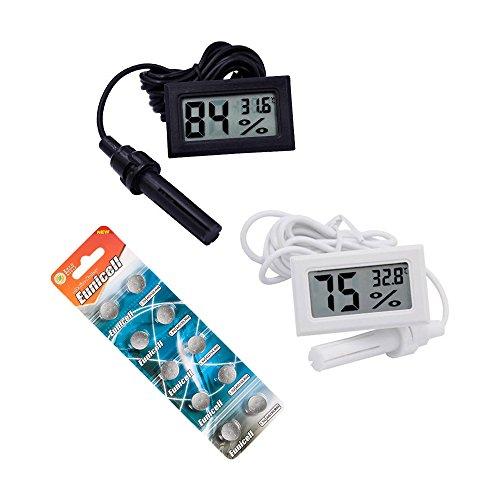 Digital Thermometer Hygrometer Probe for Fertile Egg Hatching Chicks Incubator