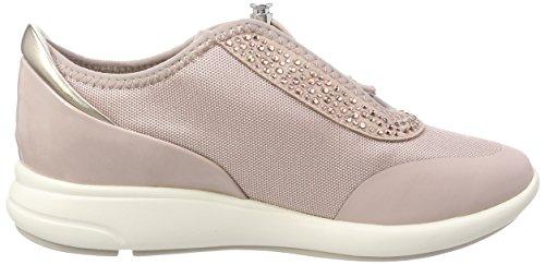 Geox D Ophira E Damen Sneaker Roze (antiek Rose)