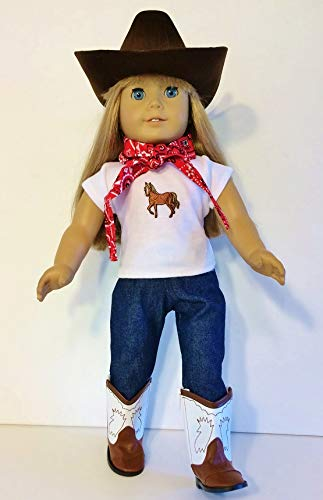 The Wishlist Store Western Cowgirl Cowboy Outfit ~