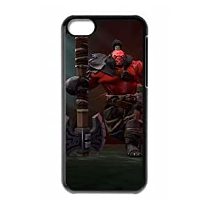 iPhone 5c Cell Phone Case Black Defense Of The Ancients Dota 2 AXE 001 UVW0549907