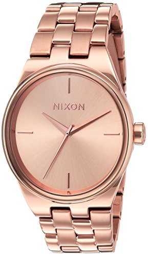 Nixon Women's 'Idol' Quartz Stainless Steel Casual Watch, Color:Rose Gold-Toned (Model: A953897-00)