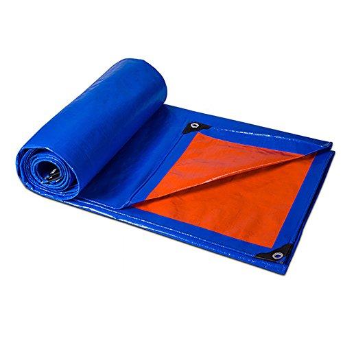 HQCC erproof Plane Blatt Abdeckungen Wasserdicht Tarpauline im Freien regendicht Tarp-Blau, 180 G M² (größe   2x3m)
