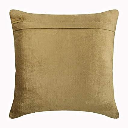 Amazon.com: Lujo perla beige fundas de almohada, terciopelo ...