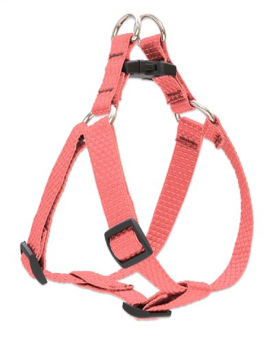 """LupinePet Eco 3/4"""" Coral 20-30"""" Step In Harness for Medium Dogs"""