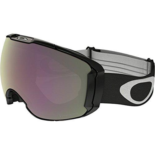 Oakley Men's Airbrake XL Snow Goggles, Jet Black, Prizm Hi Pink, Large