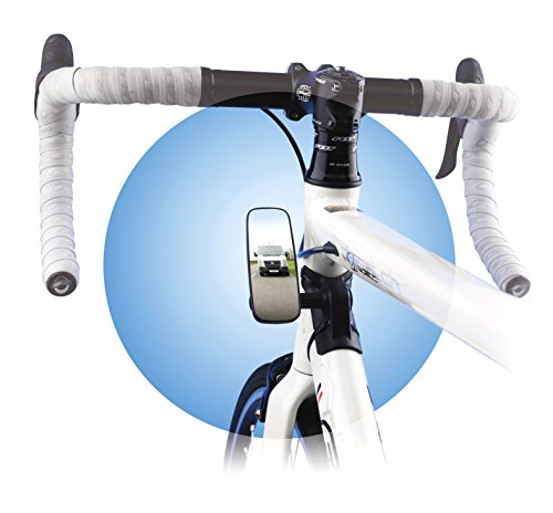 Mirror Frame Mount - Bike-Eye Frame Mount Mirror: Narrow