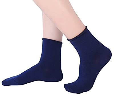 6 or 12 Pair Women's Ultra Thin Cotton Summer Ankle Crew Socks