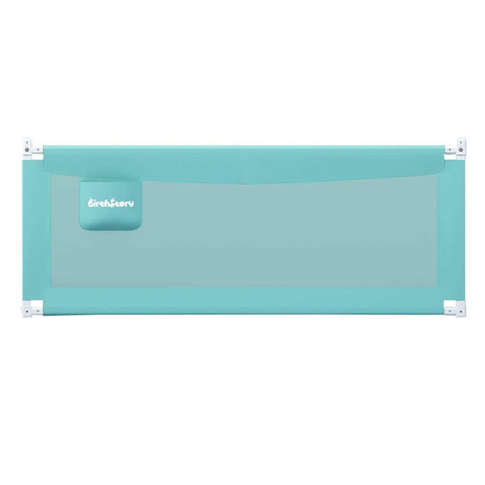 ベッドレール 安全落下防止ベビーベッドレール、高さ85 cm調節可能なベッドサイドガードベッド手すり付き、二重ボタンロック付き、縦型リフトベビーベッドバンパー (サイズ さいず : 1.8m) 1.8m  B07MT46KD5